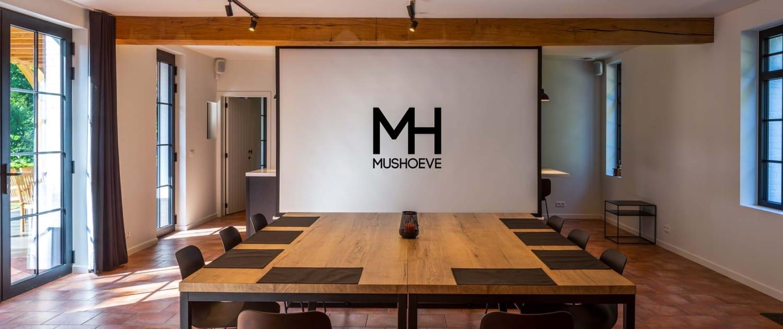 Mushoeve vergaderzaal